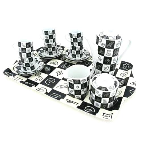 Кофейный сервиз «Шахматы»