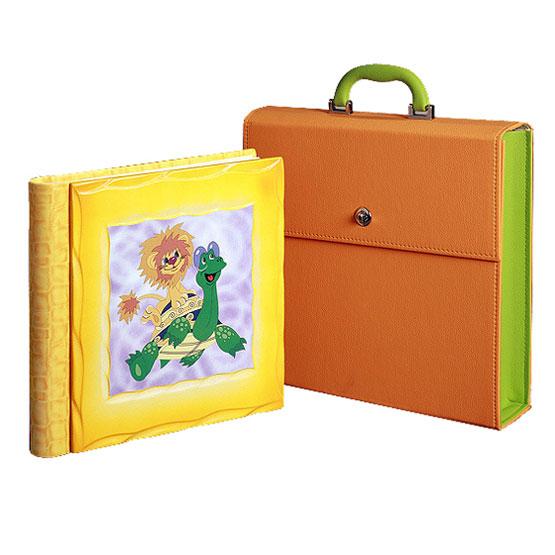 Детский фотоальбом «Львенок и Черепаха»