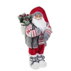 Новогоднее украшение Дед Мороз с елочкой в мешке