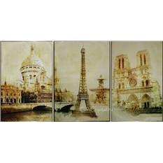 Картина с кристаллами Swarovski Париж