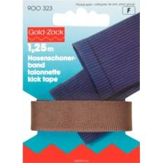 Тесьма для брюк Prym, цвет: коричневый