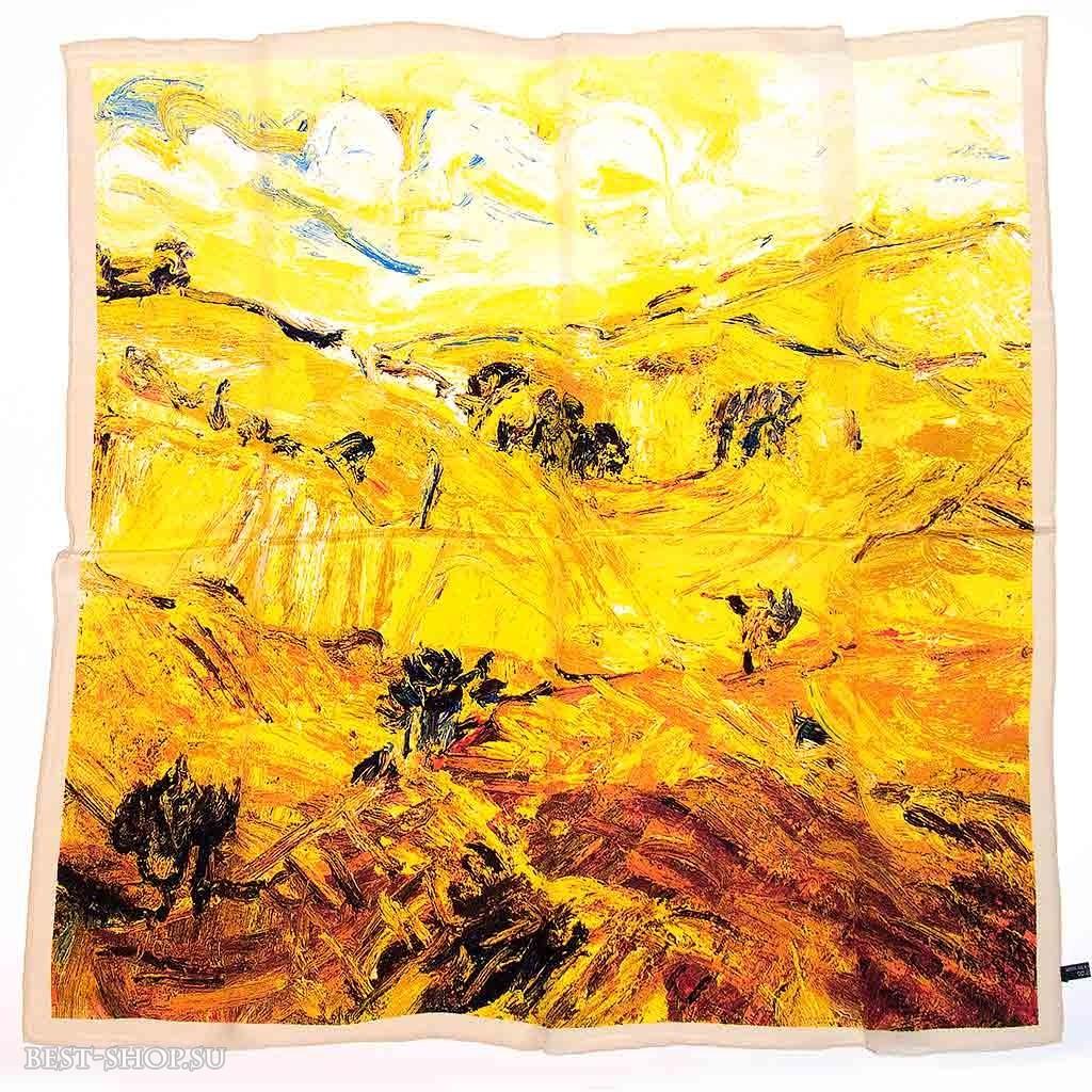 Платок Пшеничные поля (Ван Гог)