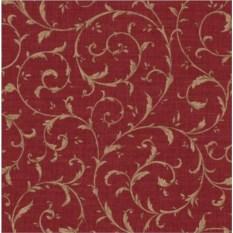 Красная скатерть Sinfonie (45х140 см)