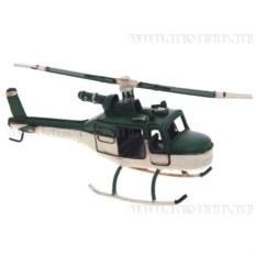 Модель Зеленый вертолет , длина 25см