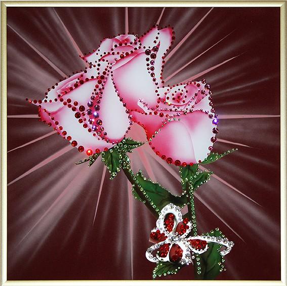 Картина с кристаллами Swarovski Признание в любви