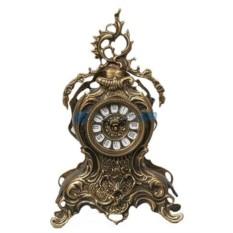 Часы из бронзы Сан-Себастьян, каштановые