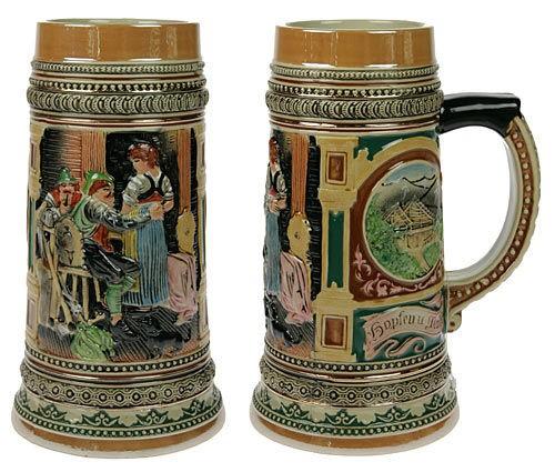 Пивная кружка коллекционная В таверне