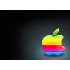 Обложка на паспорт с яблоком Apple