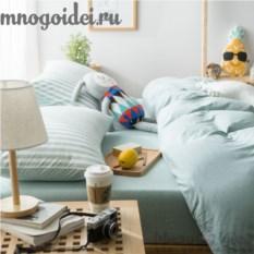 Комплект трикотажного постельного белья Лови волну