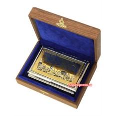 Позолоченный набор с гравюрой  Горные бараны
