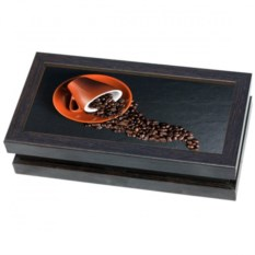 Шкатулка для денег Кофе