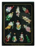 Набор ёлочных игрушек из 12 шт, 7 см