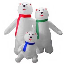 Надувная фигура Три медведя