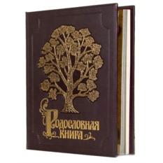 Родословная книга в эко-коже Изысканная