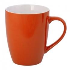 Оранжевая кружка Good morning