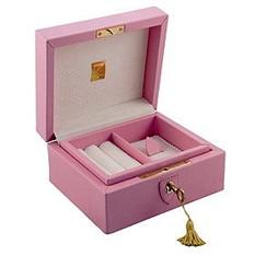 Шкатулка для драгоценностей Obsession, розовая
