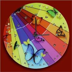 Часы с кристаллами Swarovski Полет красок