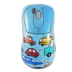 Мышь «Машинки в облаках»