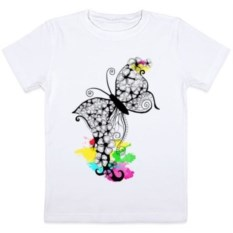 Детская футболка Flower butterfly