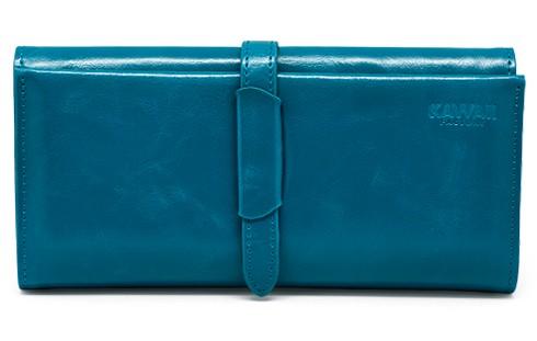 Синий кошелек Lady