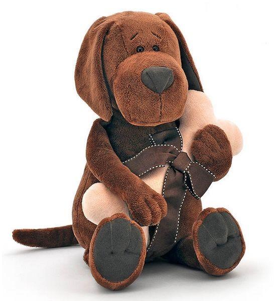 Мягкая игрушка Пес Барбоська с косточкой от Orange Toys
