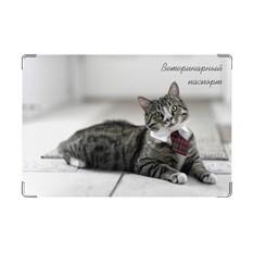 Обложка на ветеринарный паспорт Пижон