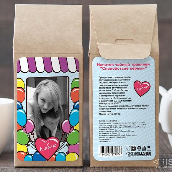 Травяной чай Люблю