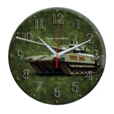 Настенные часы-сувенир Танк Армата