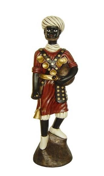 Напольная статуэтка Усатый египтянин