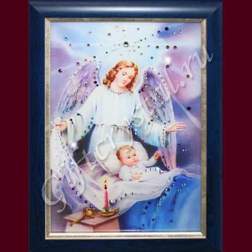 Картина со стразами Ангел-Защитник