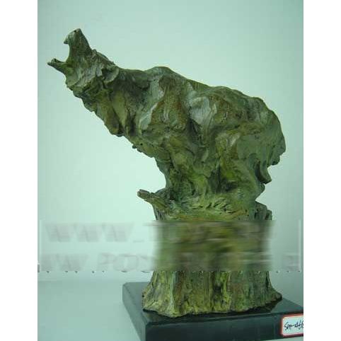 Статуэтка «Ревущий медведь»