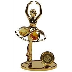 Фигурка декоративная Swarovski с часами Балерина