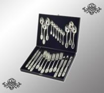 Серебряный набор столовый Император, 24 предмета