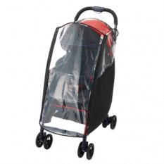 Дождевик для колясок Aprica MagicalAir (прозрачный/черный)