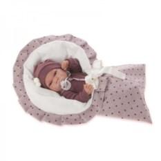 Кукла-младенец Антонио в сером Munecas Antonio Juan