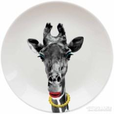 Тарелка Wild Dining Жираф