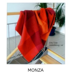 Красный плед Monza от Steinbeck