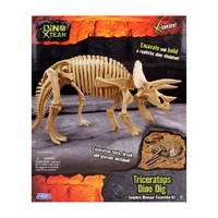 Археологическая игра Раскопки динозавра. Трицератопс