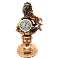 Статуэтка Лев с часами, высота 19 см