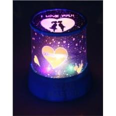 Ночник-проектор Любовь
