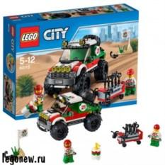 Конструктор Lego City Внедорожник 4x4