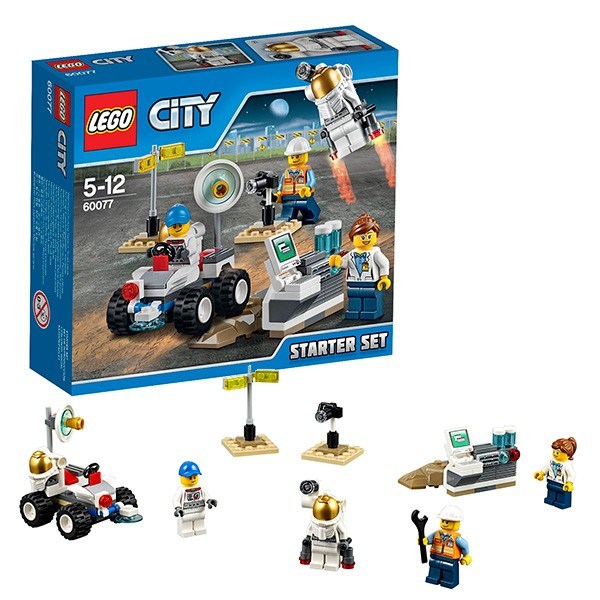 Конструктор для начинающих Lego City Космос