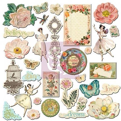 Набор аппликаций из картона Fairy Belle