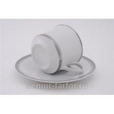Набор чашек 0,10 л с блюдцем Leander Сабина 31023