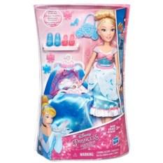 Модная кукла Disney Princess Принцесса в платье с юбками