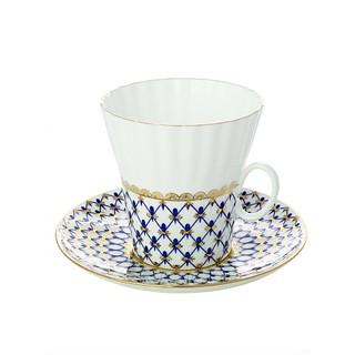 Фарфоровая чайная пара