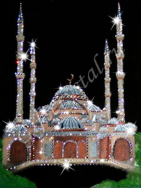 Картина с кристаллами Swarovski Мечеть