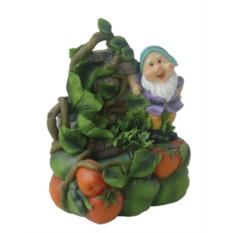 Фонтан Гномик с овощами