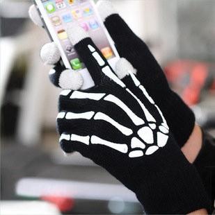 Перчатки для сенсорных экранов «Скелет» iTouch