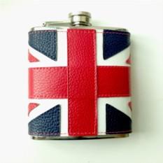 Кожаная фляжка Великобритания